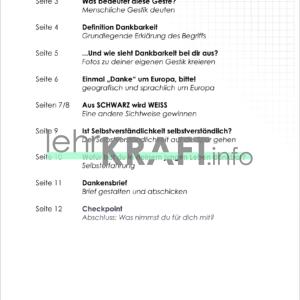 Inhaltsverzeichnis Dankbarkeit-1